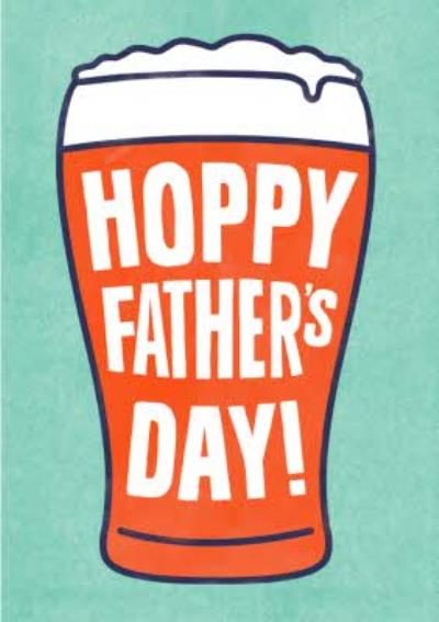 Hoppy Fathers Day Pint Card