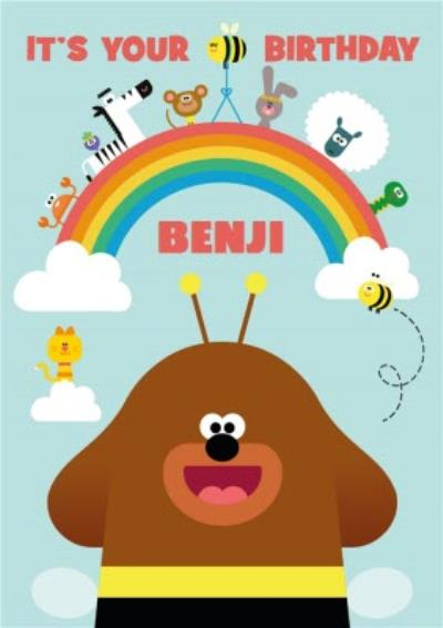 Hey Duggee And Friends It's Your Birthday Card