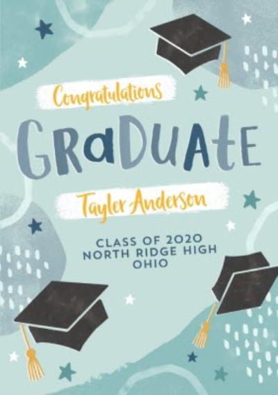 Modern Congratulation Graduation Card