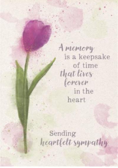 Hope Blossoms - Sending heartfelt sympathy