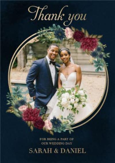 Hope Blossoms Photo Upload Wedding Thank You