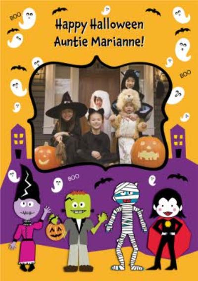 Photo Upload Halloween Card