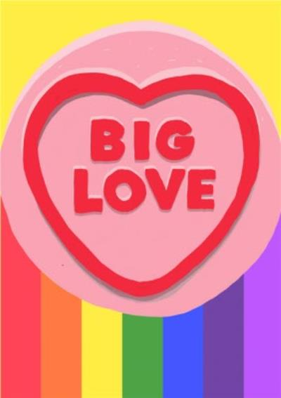 Jolly Awesome Big Love Card