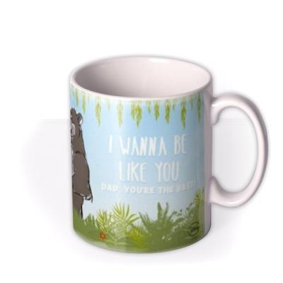 Disney Jungle Book Be Like You Photo Upload Mug