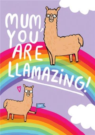 Mum You Are Llamazing Mothers Day Card