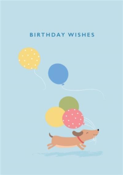 Klara Hawkins Dog Birthday wishes Card