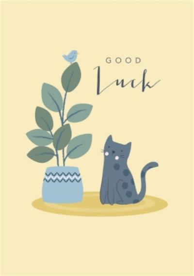 Klara Hawkins Good Luck Card