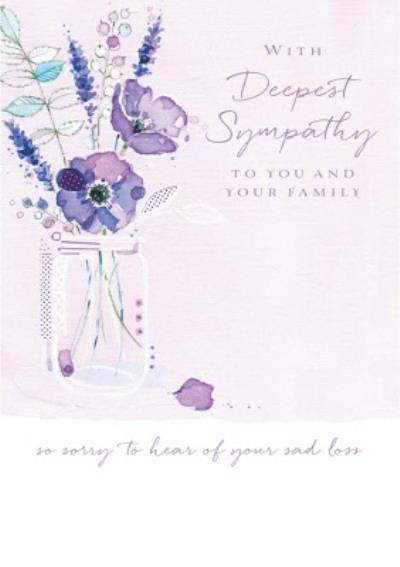 Ling design - With Deepest sympathy