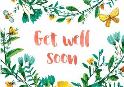 La Jolie Boutique Get Well Soon Card