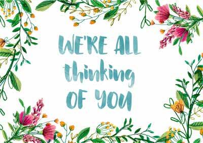 La Jolie Boutique Thinking Of You Card