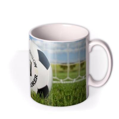 Football Net Personalised Mug