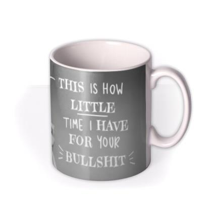 Funny this Is How Little Time I Have Retro Mug
