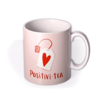 Lucy Maggie Positivi-Tea Tea Bag Mug