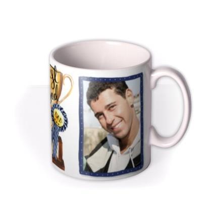 Father's Day Trophy Photo Upload Mug