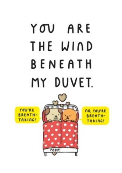 Mungo And Shoddy Breathtaking Funny Card