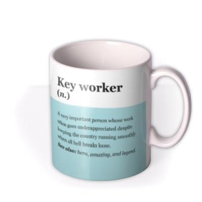 Keyworker Description Mug