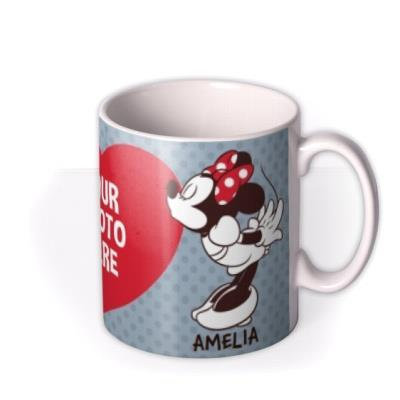 Disney Mickey Mouse Kiss Photo Upload Mug
