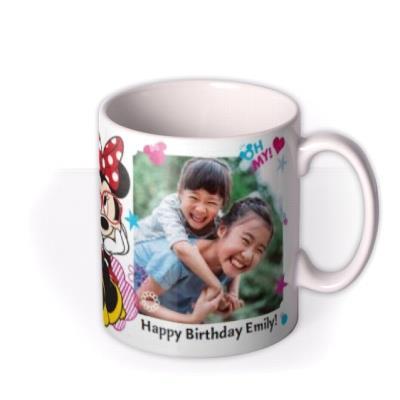 Disney Minnie Mouse Double Photo Upload Mug