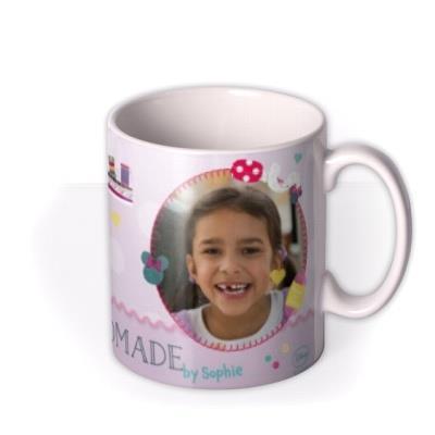 Minnie Mouse Handmade Photo Upload Mug