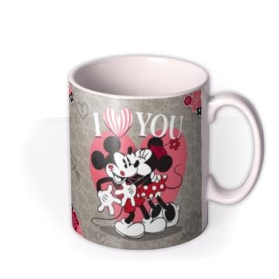 Valentine's Day Disney Minnie and Mickey Mouse Personalised Mug