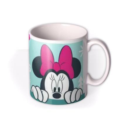 Disney Minnie Mouse Merry Christmas Mug