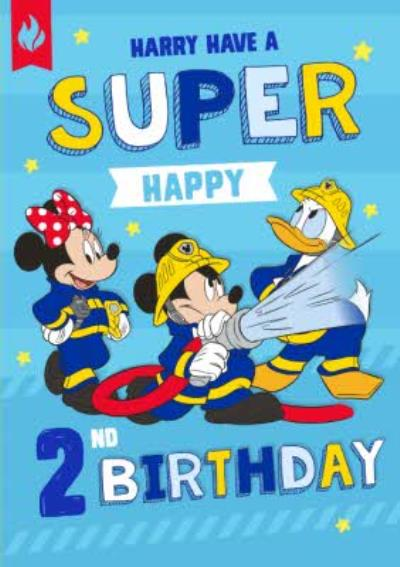 Disney Mickey Mouse and Friends Have a Super Happy 2nd Birthday