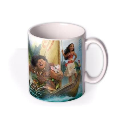Disney Moana Out To Sea Photo Upload Mug