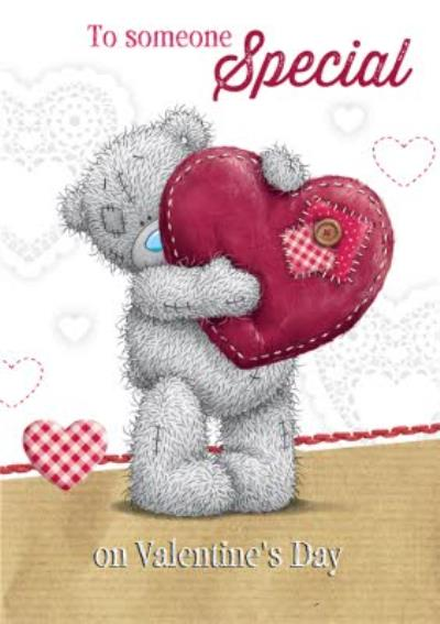 Me To You Tatty Teddy To Someone Special On Valentines Day Card