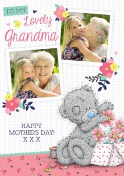 Mother's Day Card - Tatty Teddy - Lovely Grandma Photo Upload