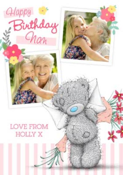 Tatty Teddy Birthday Card For Nan