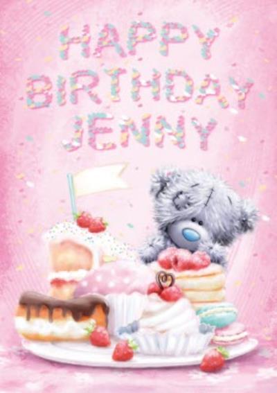 Me To You Tatty Teddy Sweet Treats Personalised Birthday Card