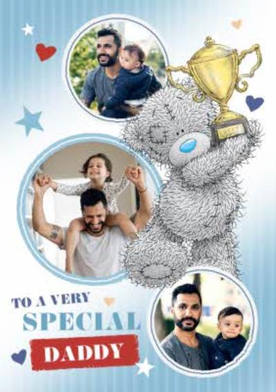 Tatty Teddy Father's Day Photo Card