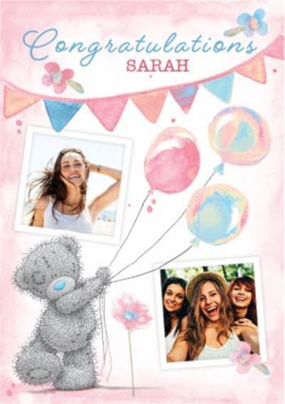 Tatty Teddy cute congratulations card
