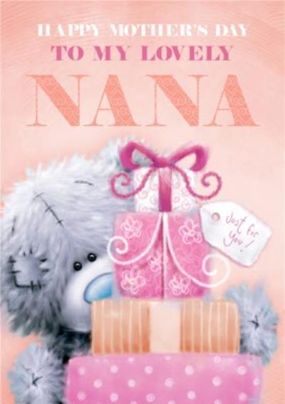 Tatty Teddy Happy Mother's Day Nana Card