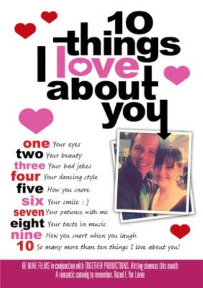 Cute Anniversary Card - Movies - Film - Photo Upload