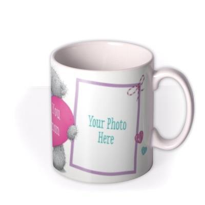Valentine's Day Tatty Teddy Heart Photo Upload Mug