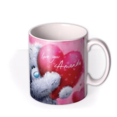 Valentine's Day Tatty Teddy Big Heart Photo Upload Mug