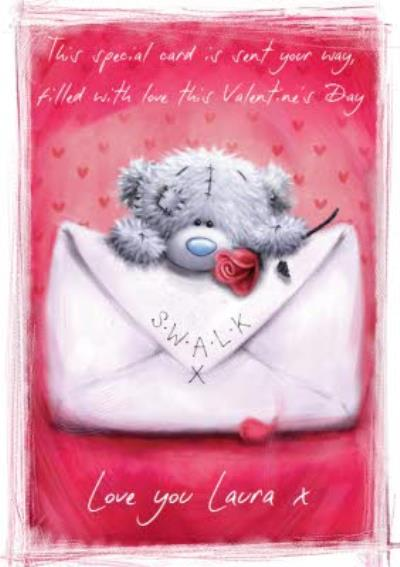 Me To You Tatty Teddy Filled With Love Valentines Day Card