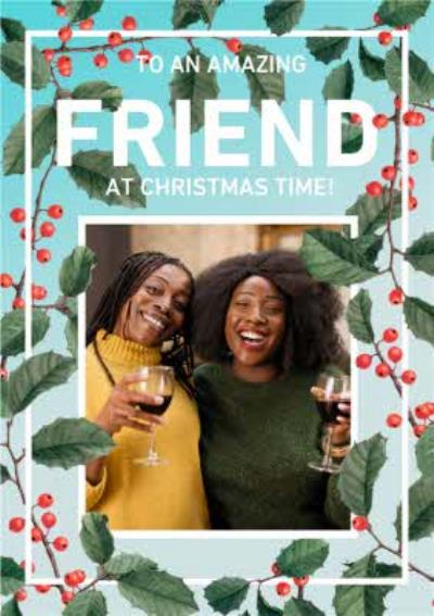 Natural History Museum Amazing Friend Photo Upload Christmas Card