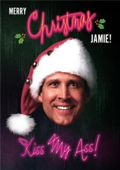 National Lampoon's Christmas Vacation Kiss My Ass Christmas Card