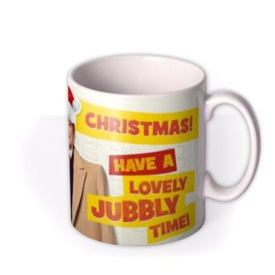 Only Fools and Horses Lovely Jubbly Christmas Mug For Dad