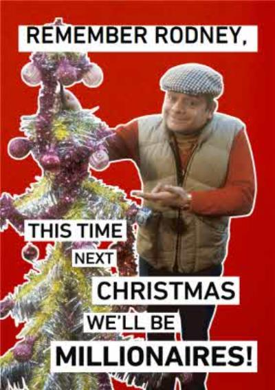 Only Fools And Horses We Will Be Millionaires Personalised Christmas Card