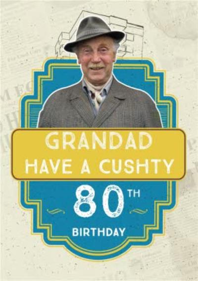 Only Fools And Horses Grandad 80th Birthday Card
