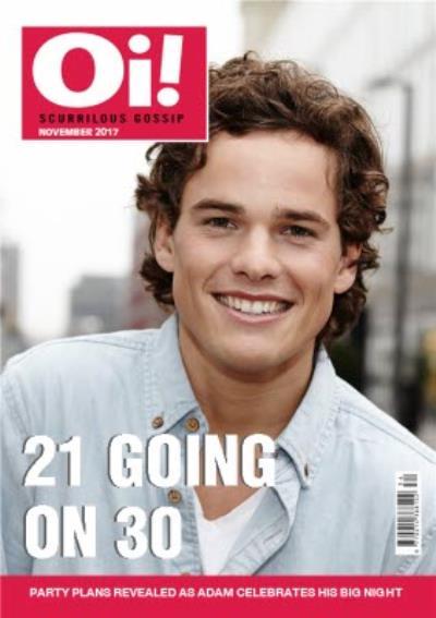 Oi Magazine 21 Going On 30 Photo Upload Card