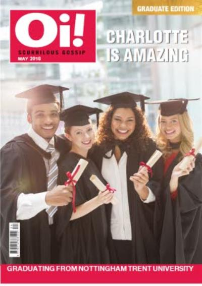 Graduation card - photo upload card - magazine spoof card