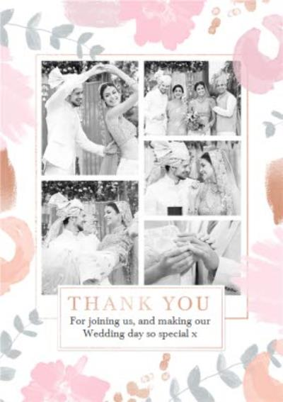 Wedding Card - Wedding Thank You - Photo Upload