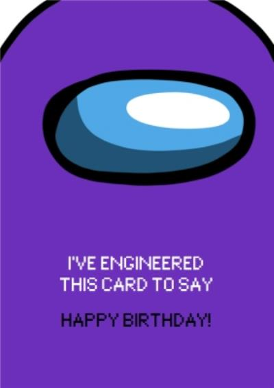 Funny Gaming Meme I've Engineered This Card To Say Happy Birthday