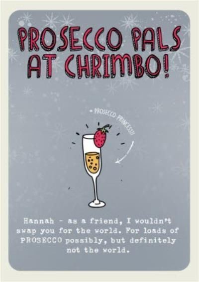 Prosecco Pals Christmas Card