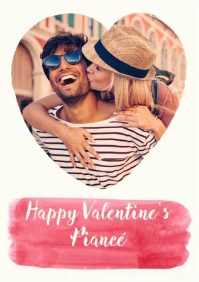 Happy Valentine's Day Card - Heart Shaped Photo Upload