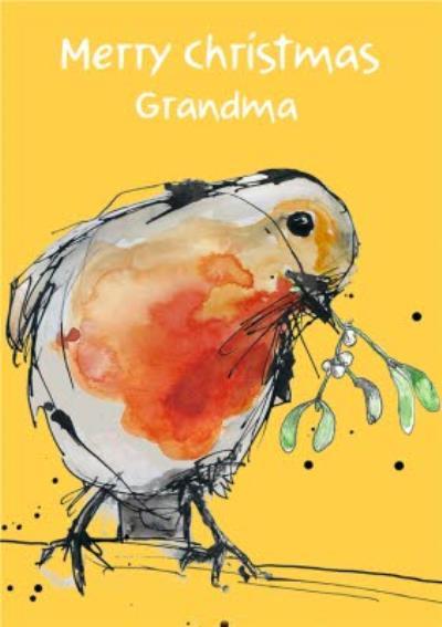 Merry Christmas Grandma Christmas Card